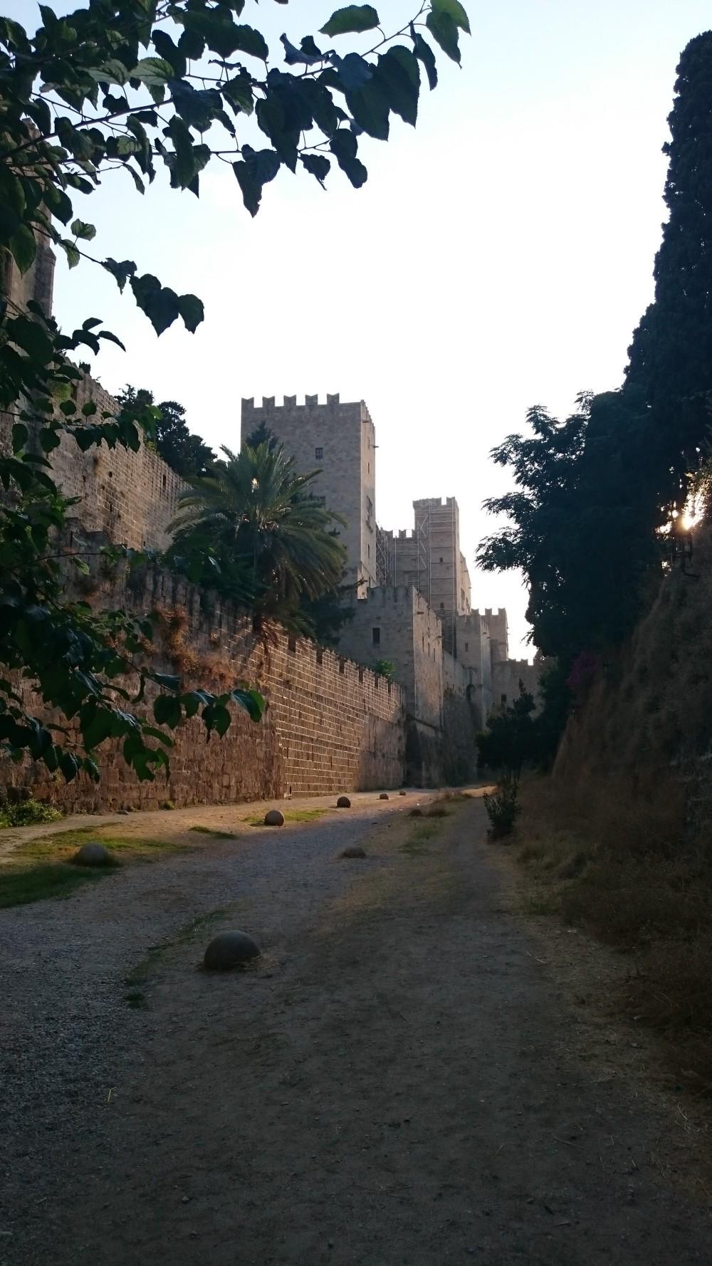 старая крепость на о. Родос, Греция