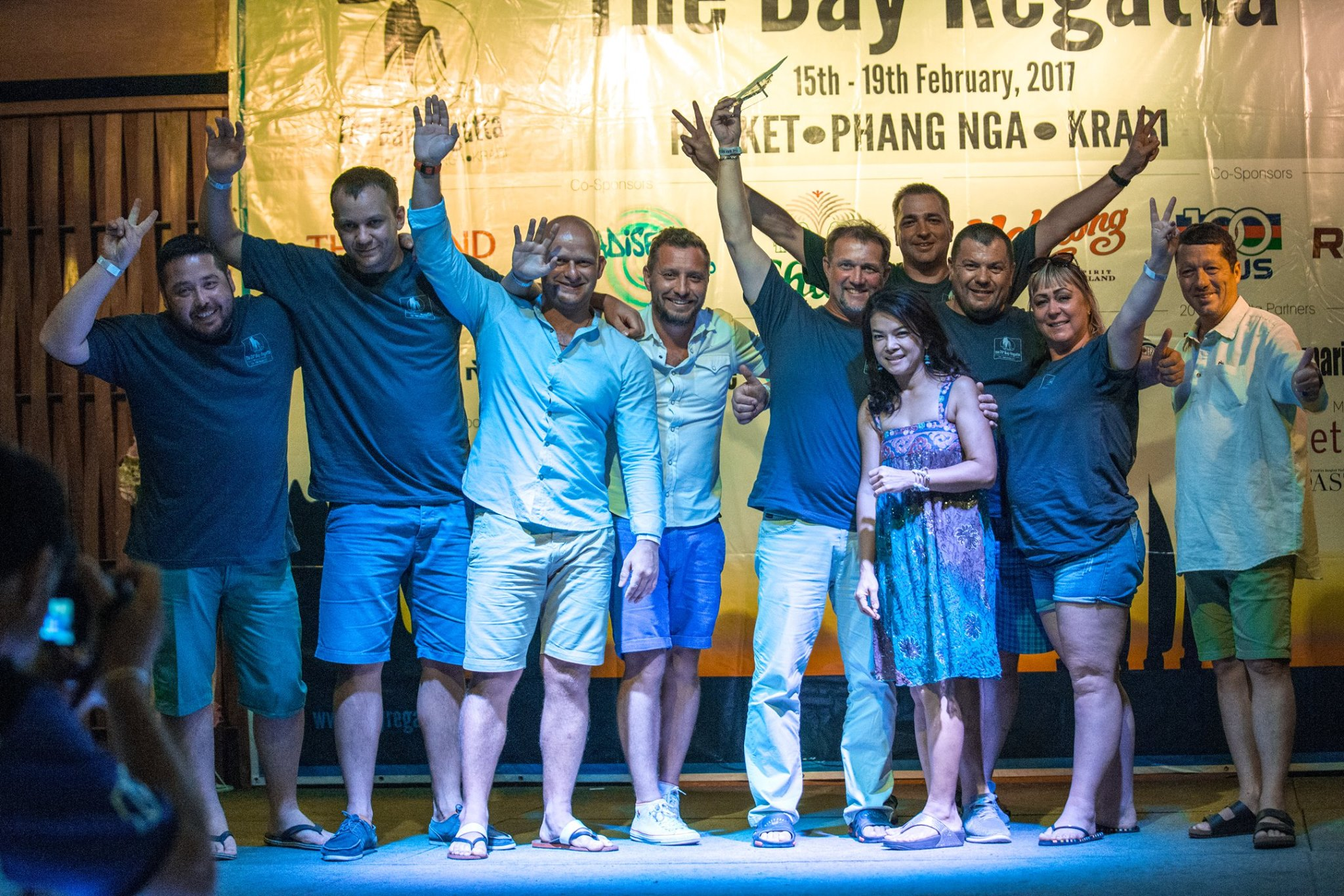 the 20 th bay regatta Kinnon награждение