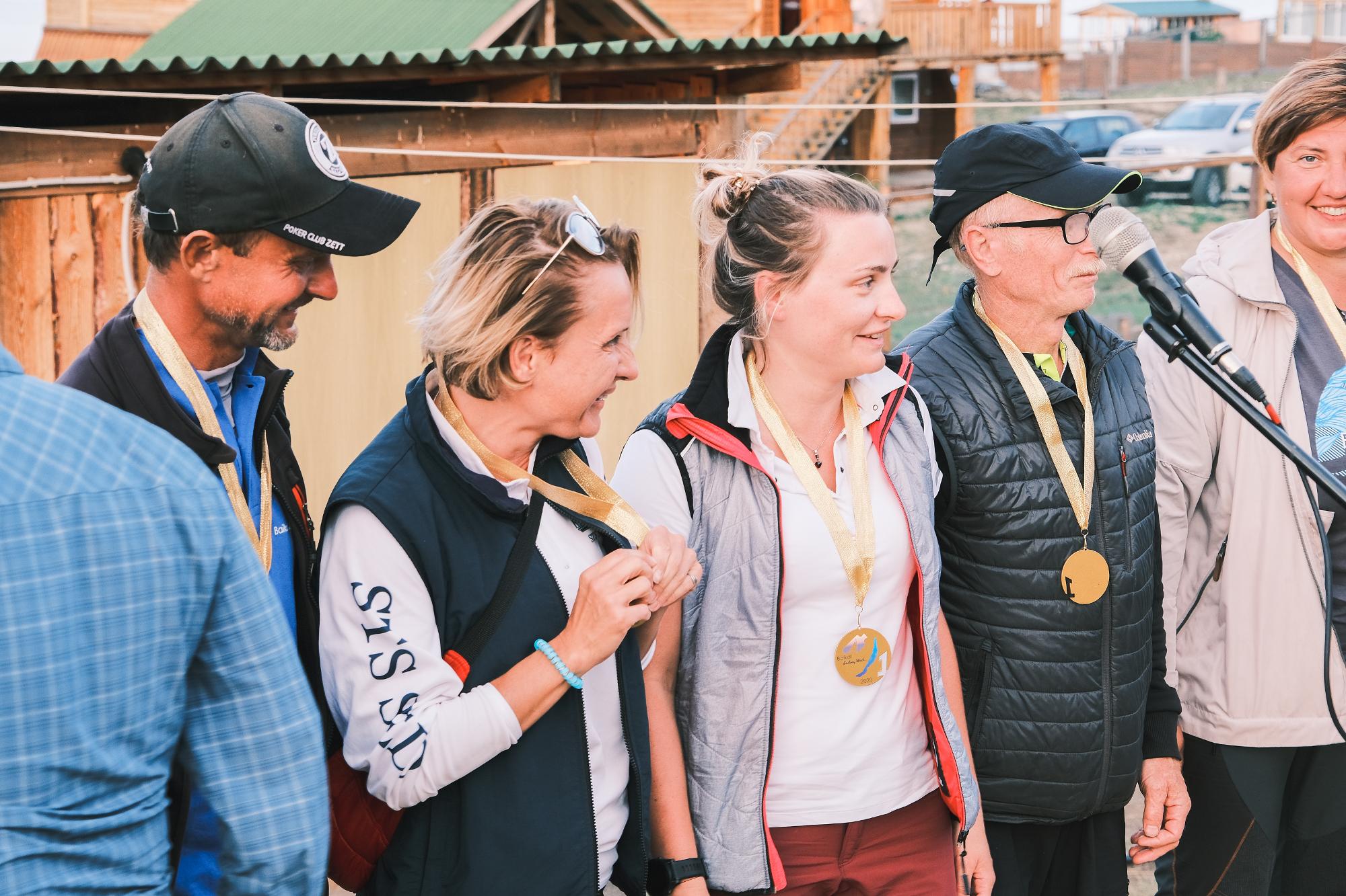 Награждение победителей регаты Baikal Sailing Week