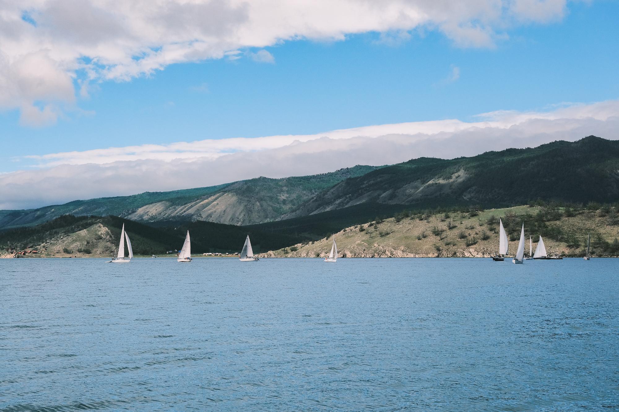 Яхтинг на Байкале