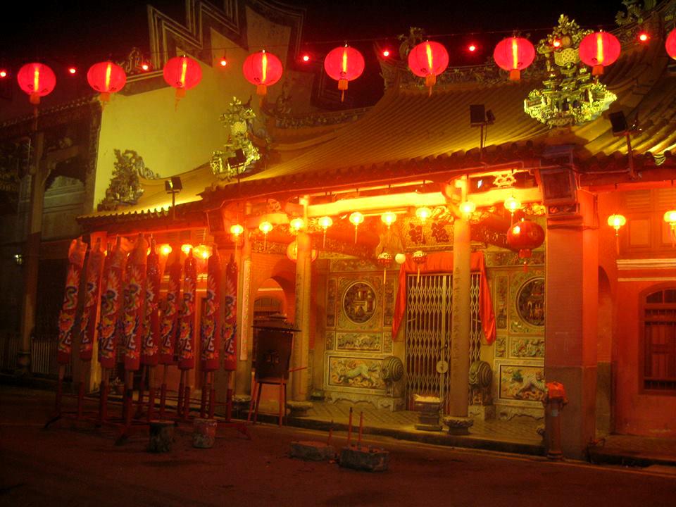 Китайский храм на Пинанге
