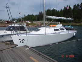 проект яхты Mount Gey 30