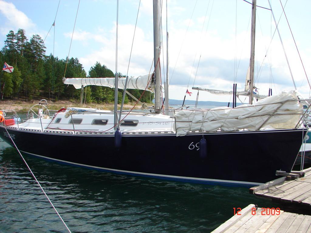 проект яхты DIDI 38