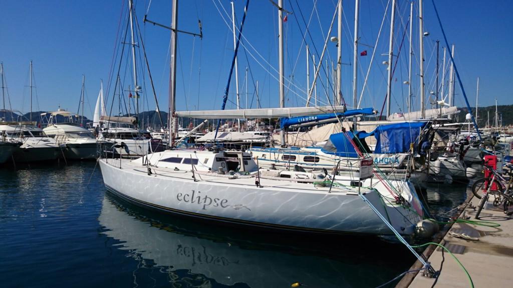 yacht Eclipse, Gocek 2015