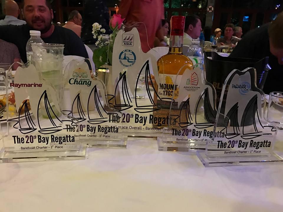 кубки 1 место the bay regatta регата в таиланде